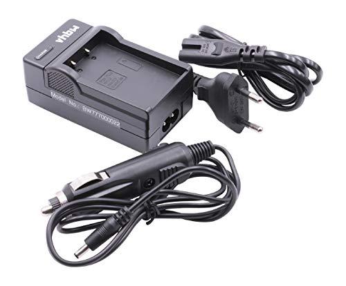vhbw Cargador batería Compatible con Olympus OM-D E-M10, E-M10 II baterías cámaras, videocámaras, DSLR -Soporte Carga
