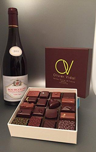 Polydisvins - Spécial Pâques : Coffret 18 Chocolats (Meilleur Ouvrier de France) Et Bourgogne