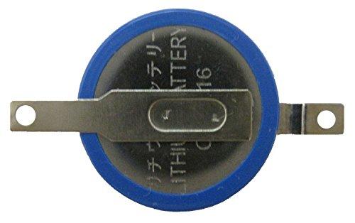 タブ付きボタン電池 CR1616 10個 ゲームボーイ・アドバンス用 [Type B]