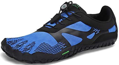 SAGUARO Hombre Mujer Minimalistas Zapatillas de Trail Running Ligeras y Respirable Zapatos...
