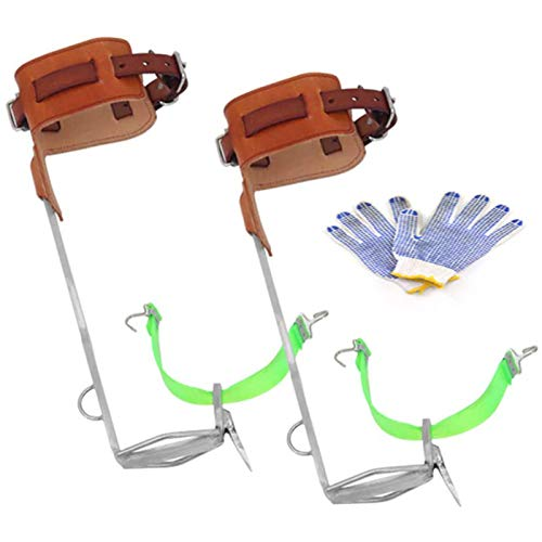 Baumklettern Spike Set Spurs Tool,Baumkletter Steigeisen Ausrüstung,Auf Einen Baum Klettern Schuhe...