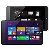 Foto RUNNA PIPO W4S Dual OS, 2 GB + 64 GB, 8,0 Pollici Windows 8.1 e Android 4.4 Z3735F Quad Core, WiFi, BT, HDMI (Nero) Durevole (Color : Black)