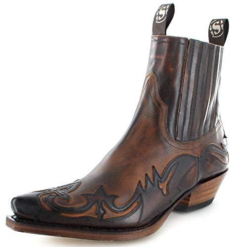 Sendra Boots, Stivali 4660, stileWestern, Marrone (Marron Tan), 41 EU