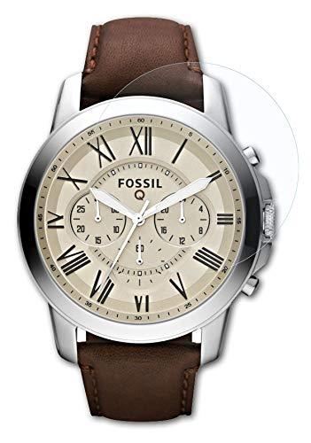 atFoliX Schutzfolie kompatibel mit Fossil Q Grant Folie, ultraklare FX Bildschirmschutzfolie (3X)