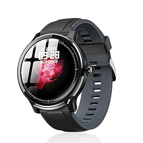 YDK SN80 Smart Watch, IP68 Impermeable, Enojado Largo, Pantalla táctil Completa, monitoreo automático de frecuencia cardíaca de 24 Horas para Hombres y Mujeres Relojes Inteligentes,D