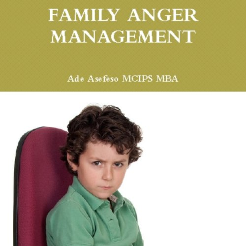 Family Anger Management audiobook cover art