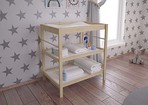 Polini Kids Vestidor cambiador naturale para bebé 3049