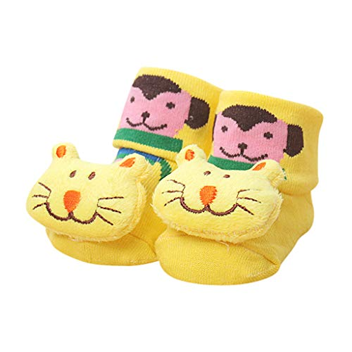 Harpily Baby Socken Jungen Und MäDchen Cartoon Kleinkind Baby Socken Tiere Anti-Slip Gestrickte Warme Socken Antirutsch Babysocken