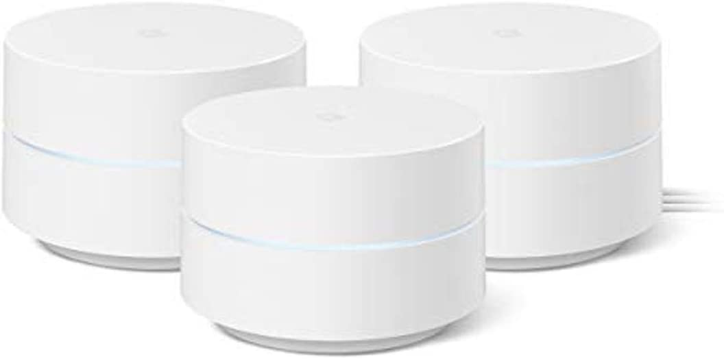 Google WiFi AC1200 3-Pack Whole Home Mesh System  $149.99 Coupon