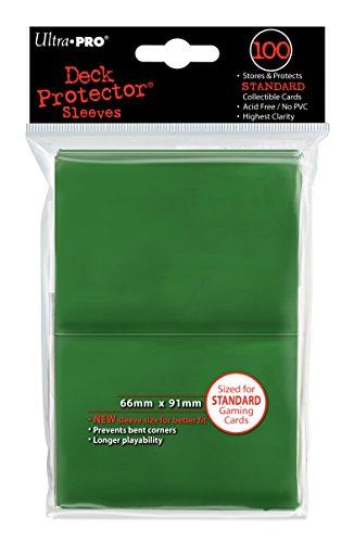 Ultra Pro- Fundas para Cartas, Color Verde (82693)