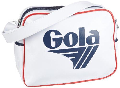 Gola - Redford, Bolsos Bandolera Unisex Adulto, Blanco (White/Navy/Red)