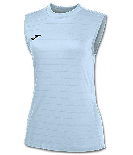 Joma Campus II - Camiseta de equipación para Mujer, Color Celeste, Talla XL