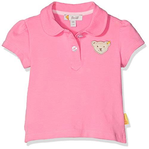 Steiff Baby-Mädchen Poloshirt, Rosa (Morning Glory 7013), 62