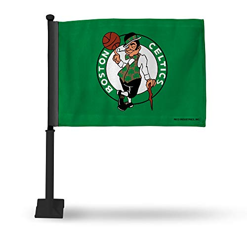 NBA Rico Industries Car Flag including Pole, Boston Celtics