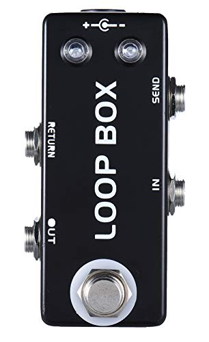 Mosky Mini Loop Box Guitar Mini Effect Pedal with Channel Selection...