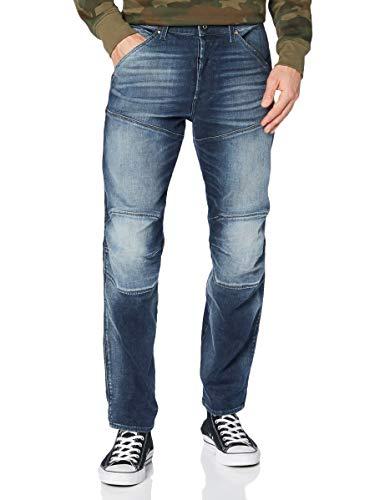 G-STAR RAW Mens 5620 3D Original Relaxed Tapered Jeans, Antic Faded Dark Nitro C045-B818, 38W / L32