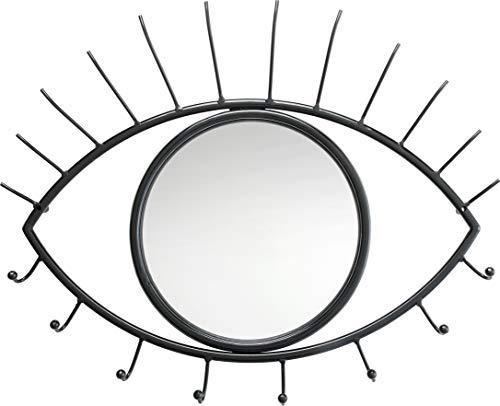 Kare Design - Appendiabiti da Parete Eye Mirror, Taglia Unica