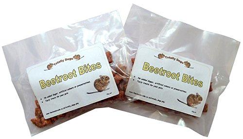 Good Degu Beetroot Bites- Degu treats 2-pack
