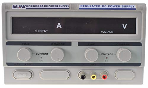 SATKIT MLINK KPS3030DA - 30V, 30A Fuente Alimentacion regulable con display digital
