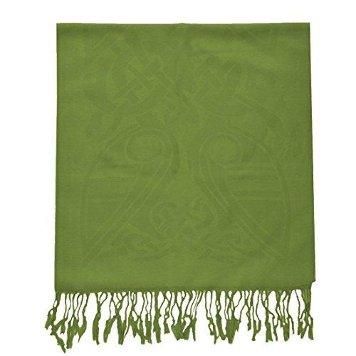 McLaughlin's Irish Shop Irischer Wollschal mit keltischem Muster