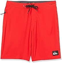 Quiksilver Men's Highline Kaimana Boardshort Swim Trunk, High Risk Red, 28