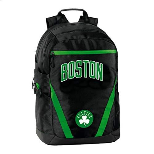 ZAINO SCUOLA NBA Celtic Boston ORIGINALE NUOVA COLLEZIONE + omaggio penna glitterata + omaggio segnalibro