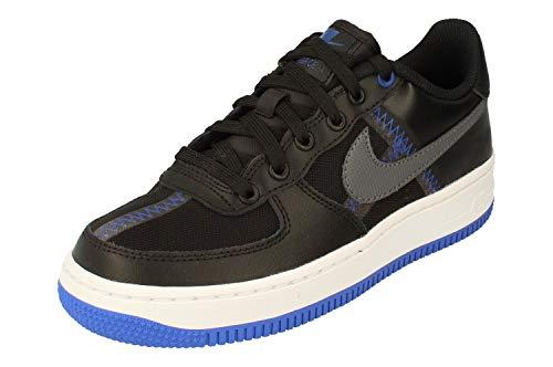 Nike Youth Air Force 1 Lv8 Leather Textile Black Entrenadores 36.5 EU
