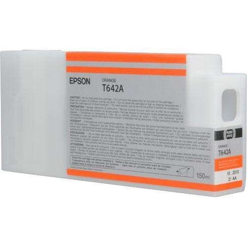 Epson T642A Ultrachrome HDR Ink Cartridge for Stylus Pro 7900/9900, 150 ml (Orange)