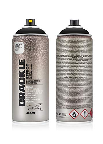 418495 Montana Craquelé-Effekt Traffic Black – 400 ml (EC9017)