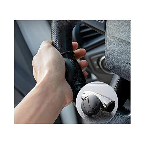 Saladplates-LXM Spinner del Volante para vehículos, Mango de Potencia fácil de Manejar, Perilla de Volante Compatible...