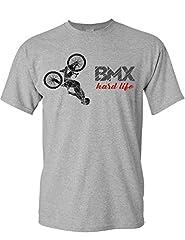 Camiseta de Bicileta: BMX Hard Life