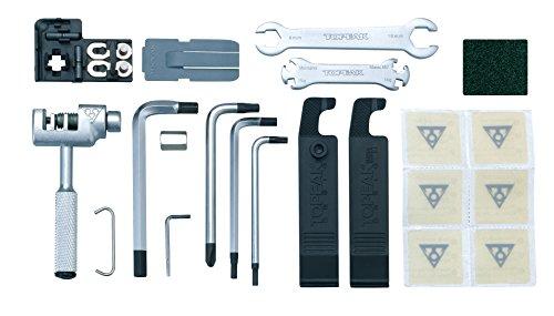 Topeak Werkzeugset Survival Gear Box, Black, One Size