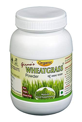 Girme's Wheatgrass Powder - 100g Single Bottle