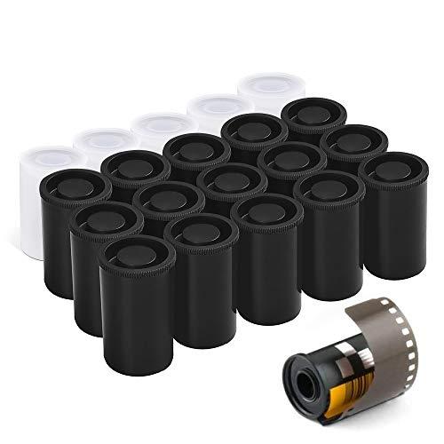 YYWEi Filmdosen Plastikkaniste 20Stk Schatzsuchgeräte Filmdosen mit Deckel für Geocaching oder Kleinteile