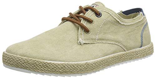 XTI 49676, Zapatos de Cordones Derby Hombre, Marrón (Taupe Taupe), 43 EU