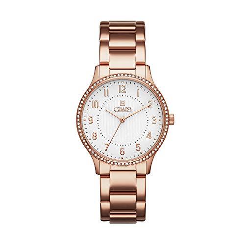 Reloj Chaps para Mujer 36mm, pulsera de Acero Inoxidable