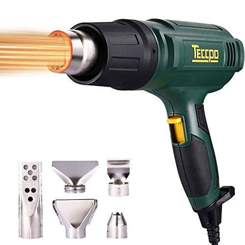 Pistola de aire caliente, TECCPO 2000W 230V profesional elé