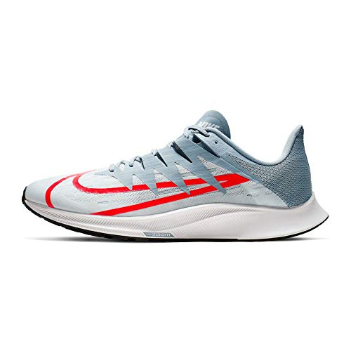 Nike Zoom Rival Fly Pure Platinum/Crimson Men's Training Running Shoes Size 11