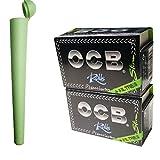 OCB - Juego de 2 rollos de papel de 4 metros + filtro Slim Long Papers + 1 funda de transporte