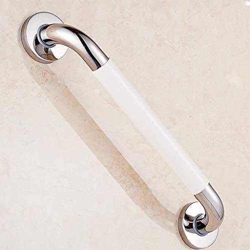LIIYANN Haltegriffe Sicherheitshandlauf Barrierefreie Badewanne Toilette Toilette Toilettenschiebegriff Edelstahl Behinderten Nachtlicht Handlauf 58cm