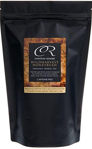 Tè alle Erbe all'Honeybush Selvatico, Biologico a Foglia Intera, Senza OGM, Alimentare Senza Caffeina, 400g