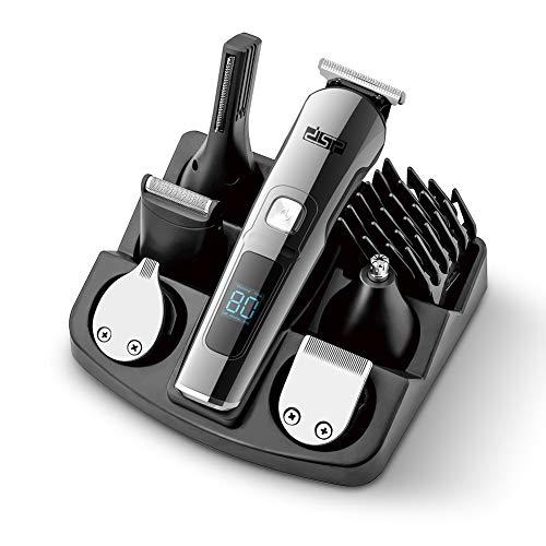 DSP Beard Trimmer Electric Hair Trimmer for Men Cordless Body Groomer Trimmer for Nose Hair Mustache...
