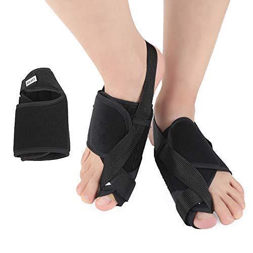N /A QJYNS Corrector de juanetes Alivio de juanetes Férulas de juanete, Protectores del Dedo del pie Mangas y separadores del Dedo del pie para Hallux Valgus 1 par