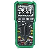 KPS-MT720 Multimetro digital TRMS baja impedancia 6600 cuentas, Tensión 1000V AC/DC, Corriente 10A AC/DC, NCV (Detección sin contacto), Temperatura CAT.III 1000V, CAT.IV 600V