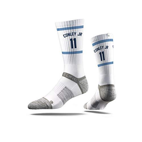 Strideline NBA Memphis Grizzlies Mike Conley JR. Calcetines deportivos prémium, talla única, color negro