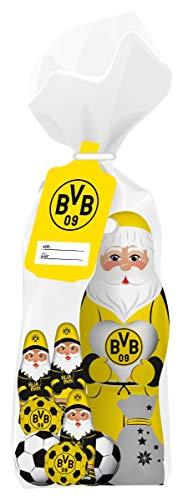 Borussia Dortmund BVB Schokoladenmischung Weihnachten 2020, Schoko Weihnachtsmann Nikolaus