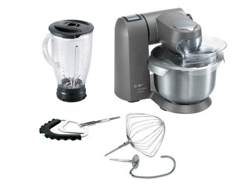 Bosch MUMXL20G Küchenmaschine MaxxiMum, granite grau