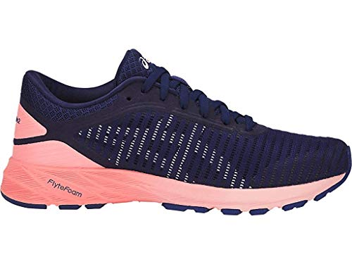 ASICS Women's Dynaflyte 2 Running Shoes, 10.5M, Indigo Blue/White/Begonia Pink