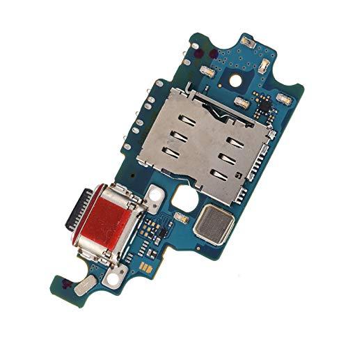 Dpofirs Puerto de Carga USB Conector de Cable para S21 + Plus 5G G996U / G9960 / G996D, Piezas de teléfono móvil con Herramienta de Repuesto