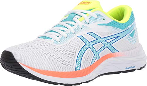 ASICS Women s Gel-Excite 6 SP Running Shoes  10  White/ICE Mint